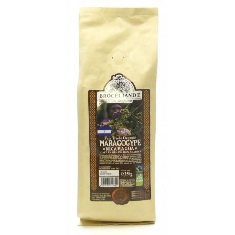 "Кофе в зернах БРОСЕЛИАНД ""Марагоджип Никарагуа"", 250 г"