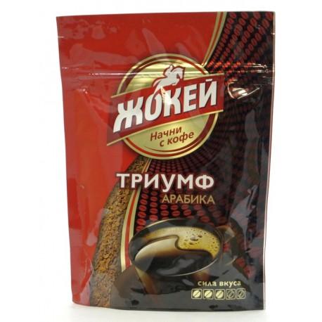 """Кофе растворимый ЖОКЕЙ """"Триумф"""", 75 г"""