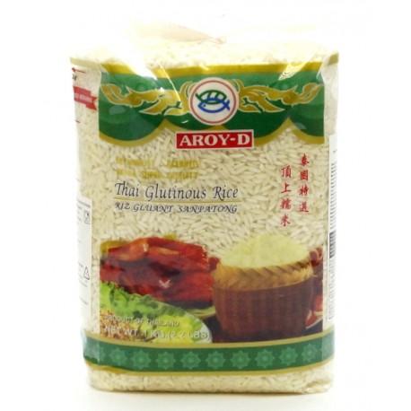 Тайский клейкий рис АРОЙ-Д, 1 кг