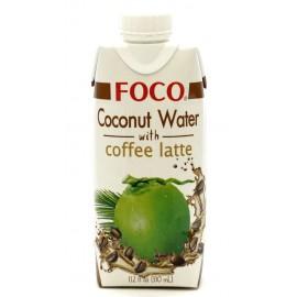 Кокосовая вода с кофе латте ФОКО, 330 мл