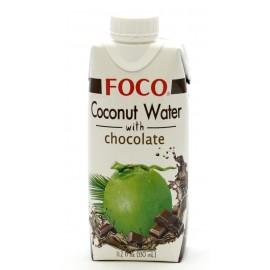 Кокосовая вода с шоколадом ФОКО, 330 мл