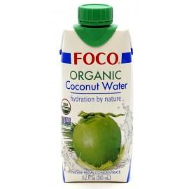 Органическая кокосовая вода ФОКО, 330 мл