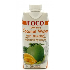 Кокосовая вода с манго ФОКО, 330 мл