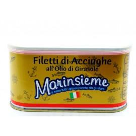Анчоусы филе в оливковом масле Marinsieme, 600 г