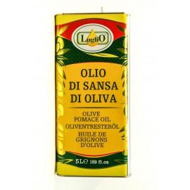 Масло оливковое ЛУГЛИО рафинированное  5литров-4 (шт.)   Ж/Б