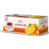 Чай черный АЗЕРЧАЙ апельсин , 25 пакетиков