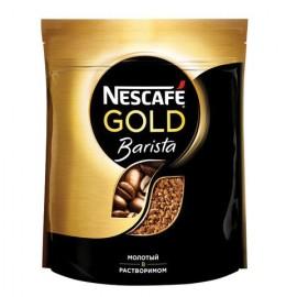 Кофе Нескафе Голд Бариста молотый в растворимом, 150г