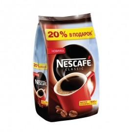 Кофе НЕСКАФЕ Классик растворимый гранулированный 900г