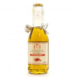 Масло оливковое Zafferano нерафинированное с ароматом шафрана