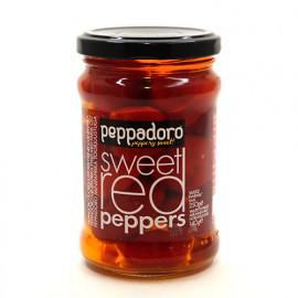 Перец красный сладкий фаршированный сыром PEPPADORO, 250 г