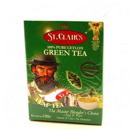 Чай ST.CLAIR'S зелёный 100г