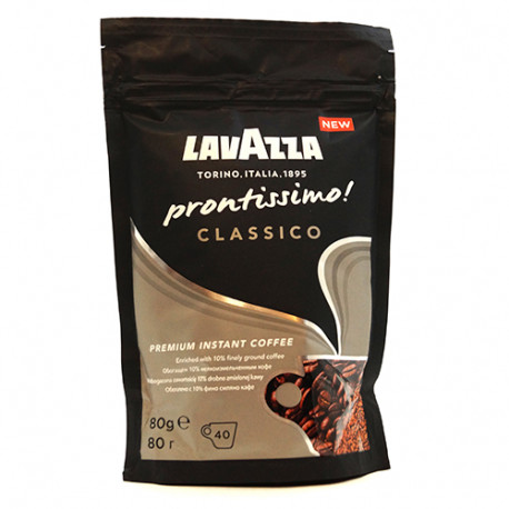 Кофе растворимый Lavazza Prontissimo Classic 80 гр
