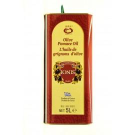 Масло оливковое рафинированное ИОНИС  5литров-4 (шт.)  Ж/Б