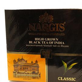 Чай Nargis Classic High Grown черный , 100 пакетиков