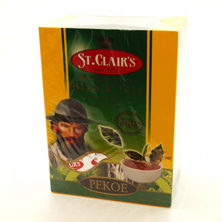 Чай St.Clair's Black Tea PEKOE 250г.