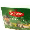 Чай St Clairs Green Tea в пакетиках 100шт