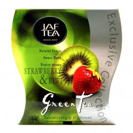 Чай зеленый Jaf Tea STRAWBERRY & KIWI 100г