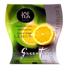 Чай зеленый Jaf Tea LEMON 100г