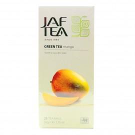 Чай зеленый Jaf Tea MANGO 25 пакетиков