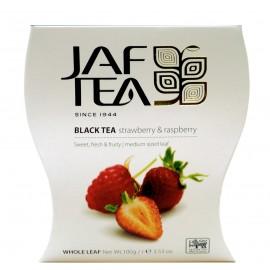 Чай черный Jaf Tea Strawberry & Raspberry 100г