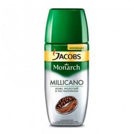 Кофе Якобс Милликано 95гр. Молотый в растворимом