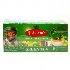 Чай зеленый St.Clair's Green Tea 25 пакетиков