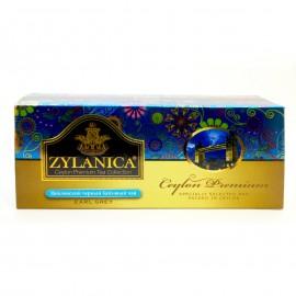 Чай черный Zylanica Ceylon Premium Earl Grey 25 пакетиков