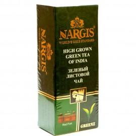 Чай зеленый NARGIS Green Tea Of India 25 пакетиков