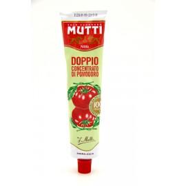 Томатная паста Mutti с массовой долей сухих веществ 28%, 130г тюбик