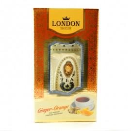 Чай черный имбирь-апельсин London Tea Club 100г