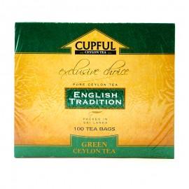 Чай зеленый Cupful 100 пакетиков