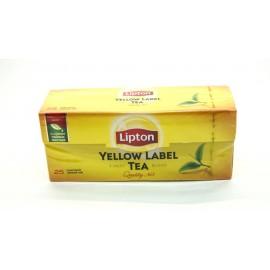 Липтон Чай черный 25 пакетов
