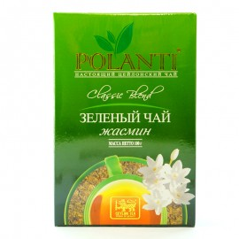 Чай зеленый жасмин Polanti 100г