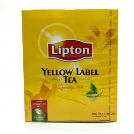 Липтон Чай черный 100 пакетов