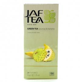 Чай зеленый Soursop & Banana Jaf Tea 25 пакетиков