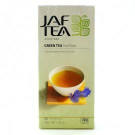 Чай зеленый Earl Grey Jaf Tea 25 пакетиков