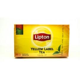 Липтон Чай черный 50 пакетов