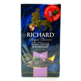 Чай черный Royal Thyme & Rosemary Richard 25 пакетиков