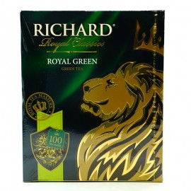 Чай зеленый Royal Green Richard 100 пакетиков