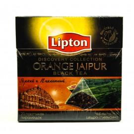 Чай Черный Липтон  пирамидки Orange Jaipur