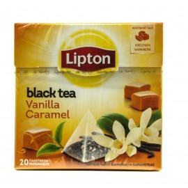 Чай Черный Липтон  пирамидки Vanilla Caramel