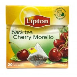 Чай Черный Липтон  пирамидки Cherry Morello