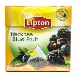 Чай Черный Липтон  пирамидки Blue Fruit