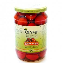 Оливки рубиновые Olymp Greek Ruby, 400г