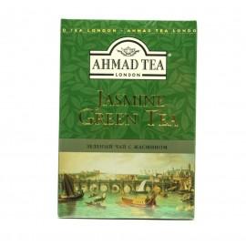 Чай АХМАД Зеленый с жасмином 90гр. Лист