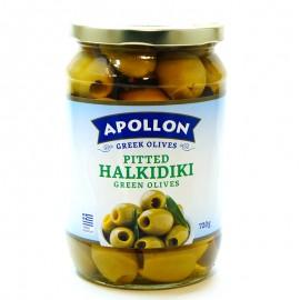 Оливки без косточки Apollon Pitted Halkidiki 720г