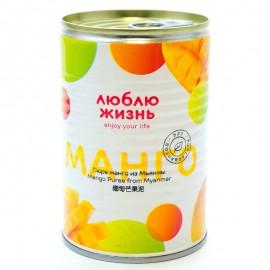 Пюре манго из Мьянмы Люблю Жизнь 450г