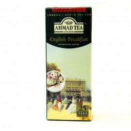 Чай черный  АХМАД  Английский Завтрак 25 пакетов