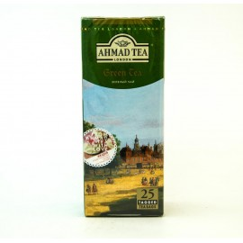 Чай АХМАД Зеленый 25 пакетов