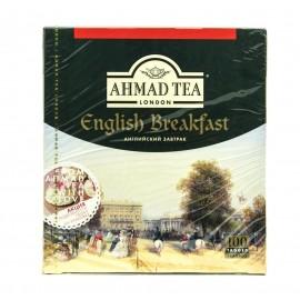 Чай черный  АХМАД Английский Завтрак 100 пакетов